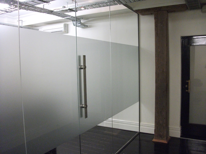 Images for single glass office door for Office glass door entrance designs